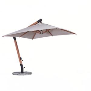 outdoor solution Luxury Design Wind Resistant Outdoor Patio Hanging Umbrella OS-C017