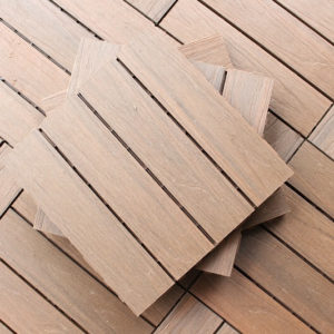 Outdoor Solution Custom made non slip wood plastic board outdoor portable wpc composite decking-Item No OS-OR02