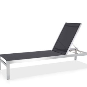 Outdoor Solution High quality Stainless Steel Beach and resort Lounge Chaise-OS1B008