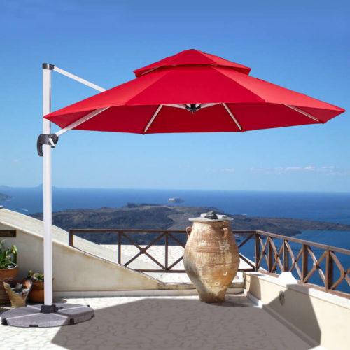 Outdoor Solution Outdoor Garden Patio Pool Restaurant Roman Parasol Umbrella OS-C005